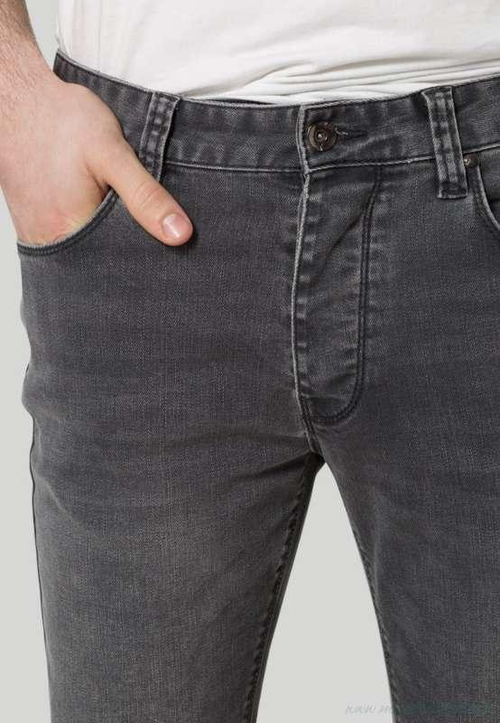 Minimum KARL – Jeans skinny – dark grey 98 cotone 2 elastan bassa MI422G01Q-C11_5_LRG