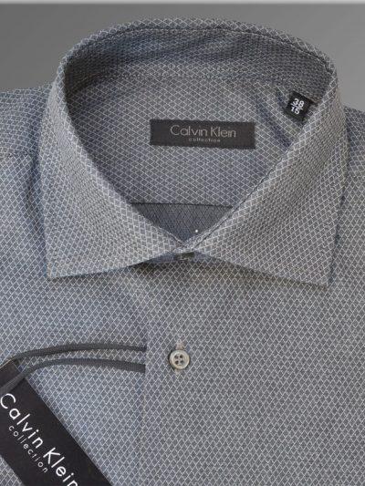 Camasa Calvin Klein Collection, Gri, Texetura