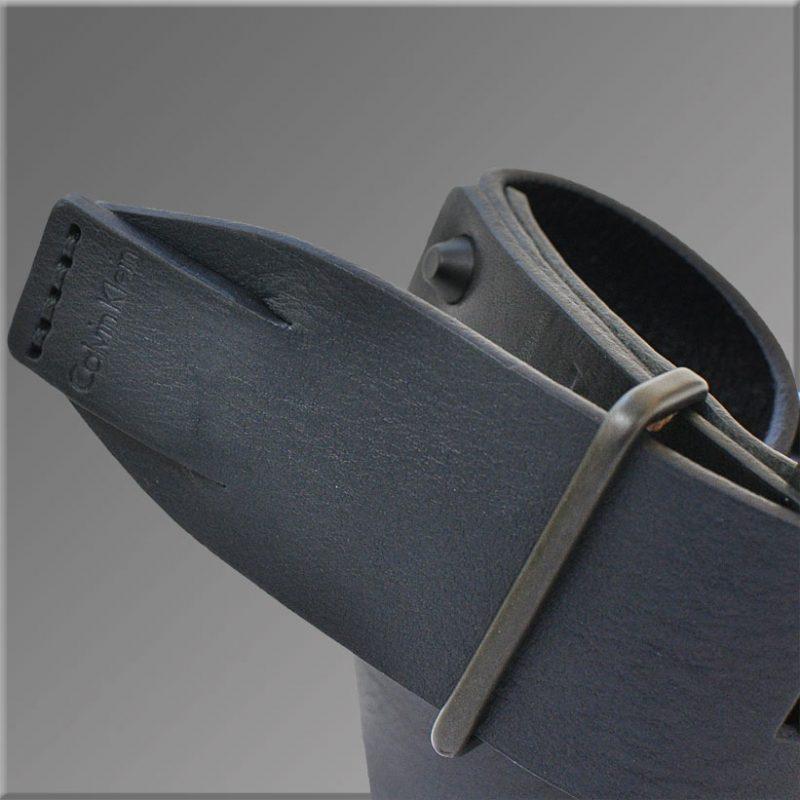 Curea Calvin Klein Jeans Material Piele Naturala 100% Bluemarin