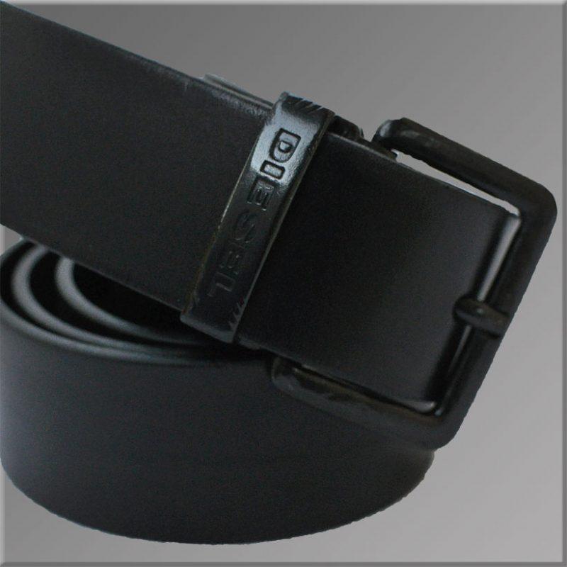 Curea Neagra Diesel Cow Leather