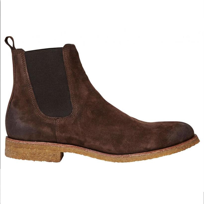 Botine Barbati Chelsea Boots, Maro