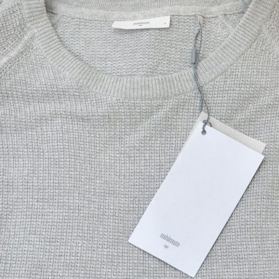 Bluza Barbati, Gri Cu Textura