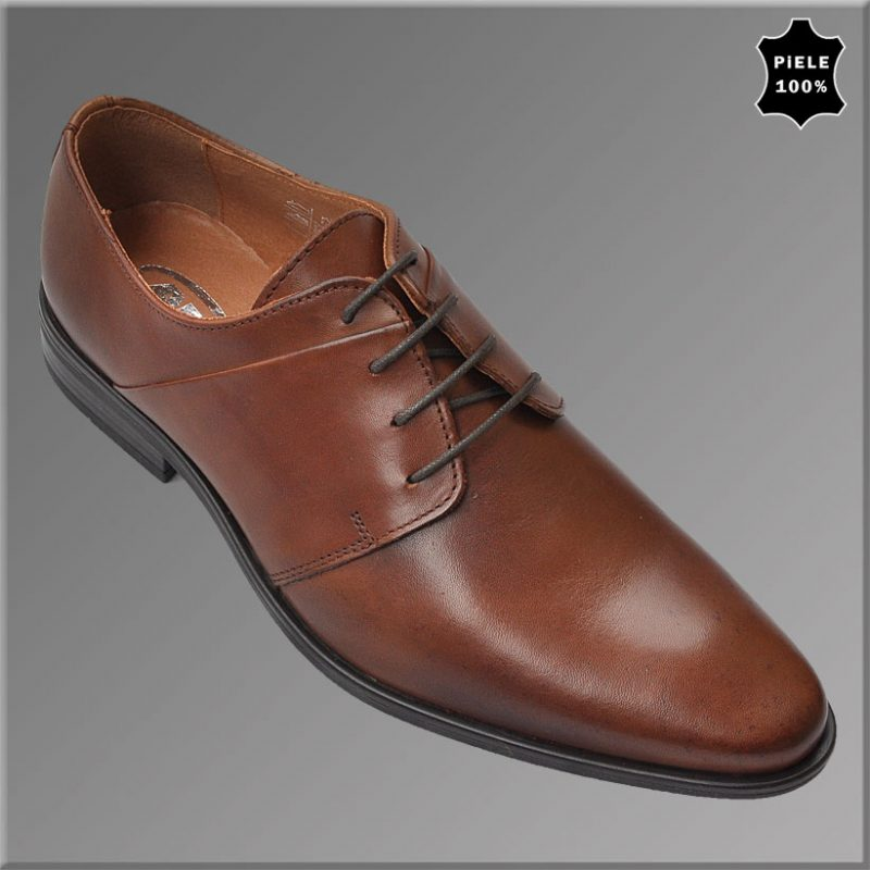 Pantofi Eleganti Barbati, AM Shoes, Maro